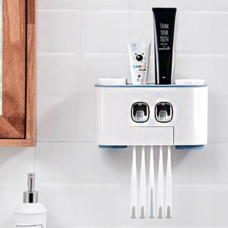 Auto Squeezing Toothpaste Dispenser High Quality Hands Free Squeeze Out Auto Squeezing Toothpaste Dispenser