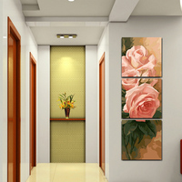 Max Size 75x75cmx3 Frameless Pictures Painting By Numbers DIY Digital Oil Painting On Canvas Home Decoration