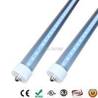 8ft Led Tube Lights T8 FA8 Single Pin 240cm LED Tube Light 40W 60W 8 Ft