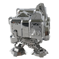 3D Metal Stainless Steel Puzzle Adult Boys DIY Assemble Model Jigsaw Educational Collection Birthday Gift Desktop