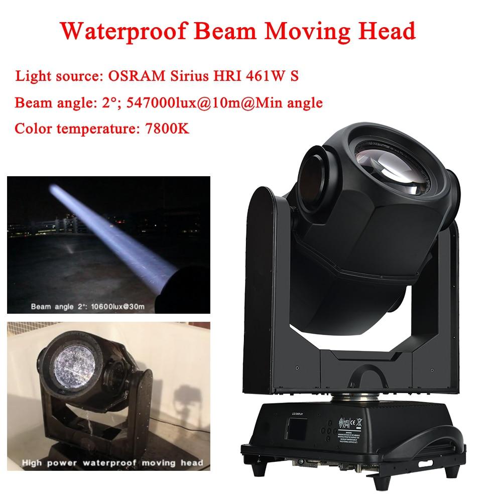 Disco Light 461W Waterproof Super Beam Moving Head Light OSRAM Sirius Light Source Outdoors Stage Sound DJ Party Lighting