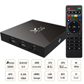 2GD X96 S905X Amlogic Quad Core Android 6.0 Caixa de Tv Ram 16 GB Rom Smart Tv Box Wifi HDMI 2.0A UHD 4 K * 2 K Completa 1080 P HD Media Player