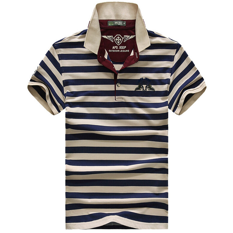 2019 Neue Hohe Qualität Marke Männer Polo-shirt Neue Sommer Casual Gestreiften Baumwolle Männer Solide Polo Hemd Ralp Männer Camisa Polo Homme Schrumpffrei Babykleidung Mädchen