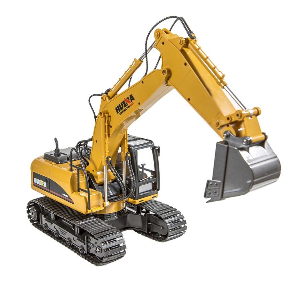 8 canaux 1/14 RC pelle pelle camion jouet supprimer contrôle Construction véhicule garçon cadeau RC ingénierie voiture tracteur Brinquedos