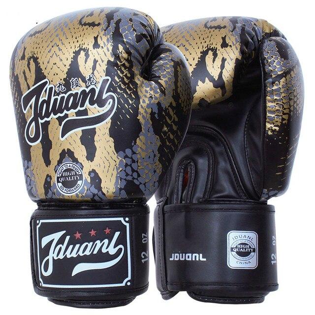 Boa Pattern Kids Youth Adult Women Men Muay Thai Boxing Gloves Kickboxing MMA Sparring Mtts Martial Arts Training Gear DEO