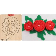 Folding flower  wooden die cutting dies Suitable for common die-cutting machines in the market