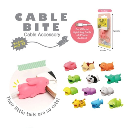 HTB1CCIcuOCYBuNkSnaVq6AMsVXa5 1 pcs Animal Cable bites Protector for Iphone protege cable buddies cartoon Cable bites kabel diertjes Phone holder Accessory