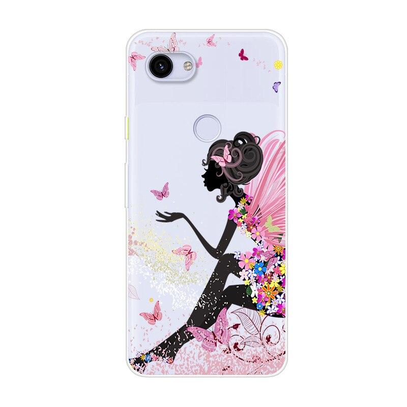 Cute Case Google Pixel 3A Case Google 3A Case Soft Silicone Cartoon Animal TPU Cover Phone Case For Google Pixel 3A XL 3 A 3Axl