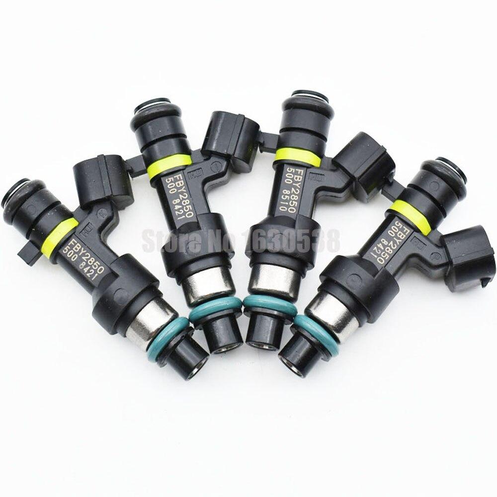 100 New Original 4PCS lot Fuel Spray Nozzles FBY2850 16600 EN200 Fuel Injectors for Nissan Bluebird