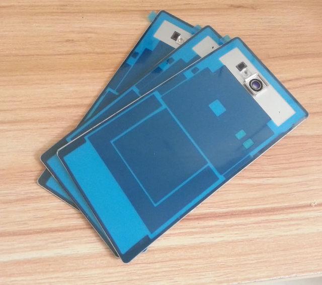 100% Original Volver Funda Para Sony Xperia M2 S50H Módulo de Batería de la cubierta cover + NFC + Cristal de La Cámara del Envío gratis