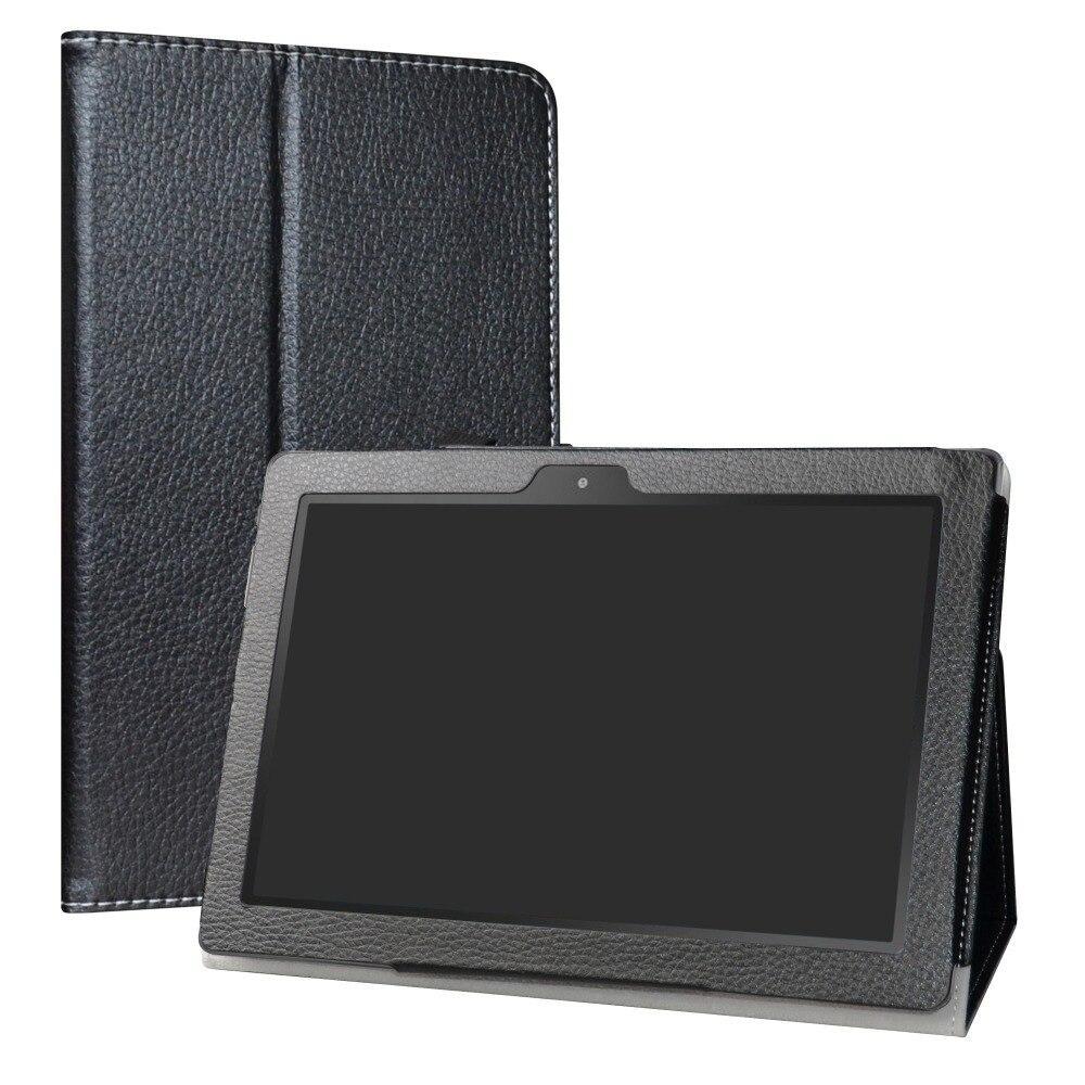 """Estojo para 10.1 """"digiland dl1016/dl1018a tablet dobrável suporte capa de couro do plutônio com fecho magnético"""