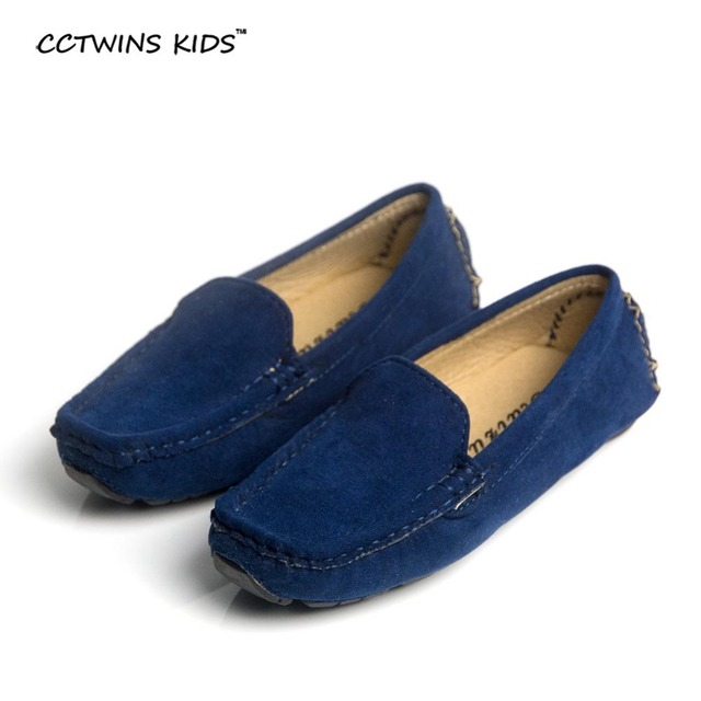 CCTWINS KIDS spring autumn children shoe moccasin boy leather shoe baby boy  shoe baby kid flat cbe9927da67b