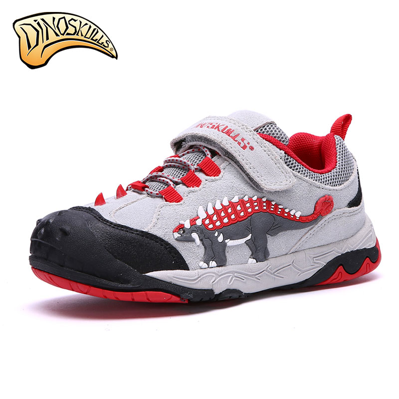 Dinoskulls 2018 new spring autumn kids boy shoes Fashion LED 3D dinosaur sneakers children sport casual  shoes for boys 25 40 size usb charging basket led children shoes with light up kids casual boys