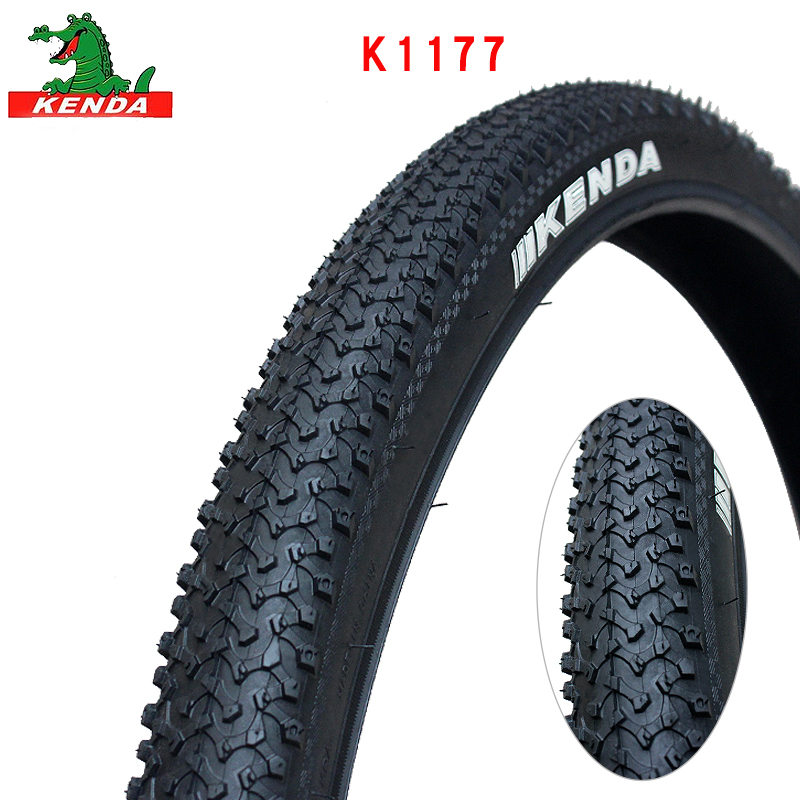 KENDA highway bicycle tire K1177 Steel wire tyre <font><b>24</b></font> 26 inches <font><b>24</b></font>*<font><b>1.95</b></font> 26*<font><b>1.95</b></font> Chains large patterns mountain bike tires parts image