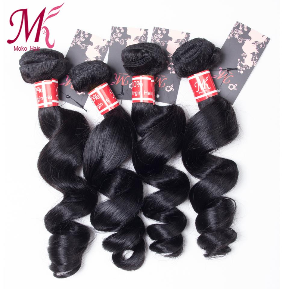 7A Unprocessed Virgin Hair Malaysia Loose Wave Malaysian Virgin Hair Loose Wave 4 Bundles Virgin Human Hair Cheap Malaysian Hair
