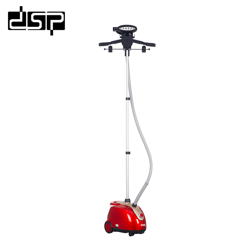 все цены на DSP Household professional clothing steamer high quality adjustable hanging vertical steam ironing machine 1.8kW 220-240V онлайн