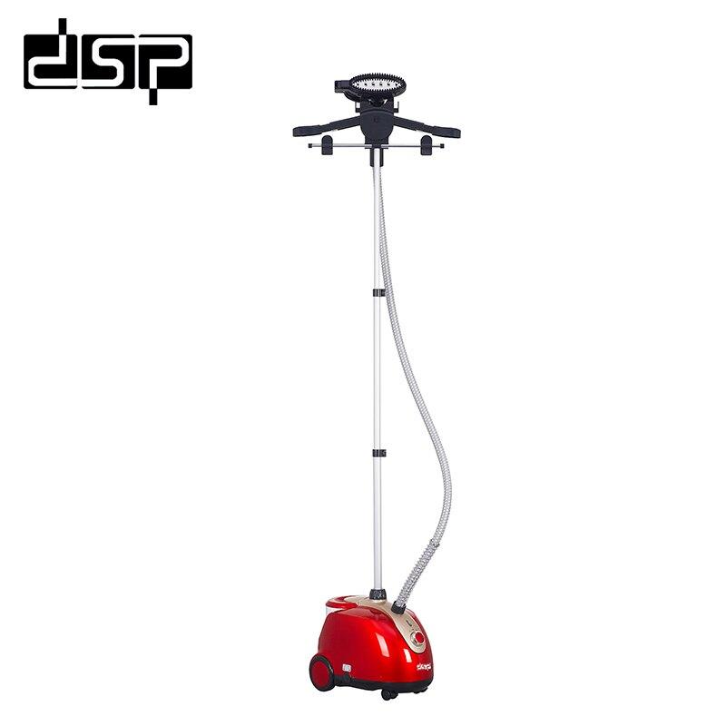 DSP Ménage professionnel vêtements vapeur haute qualité réglable suspendu vertical repassage à la vapeur machine 1.8kW 220-240 v