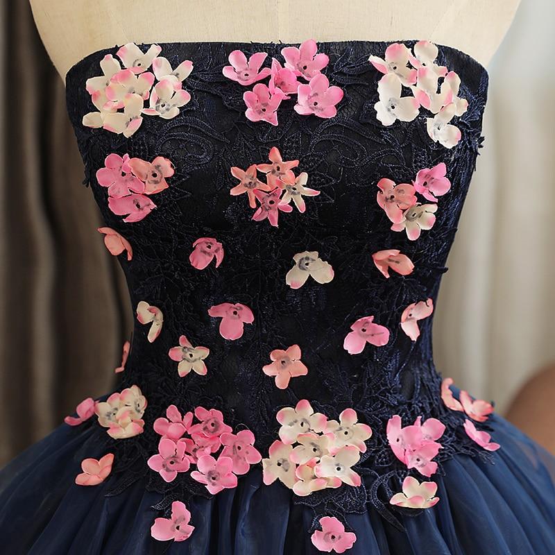 doce flor formal baile quinceanera vestido