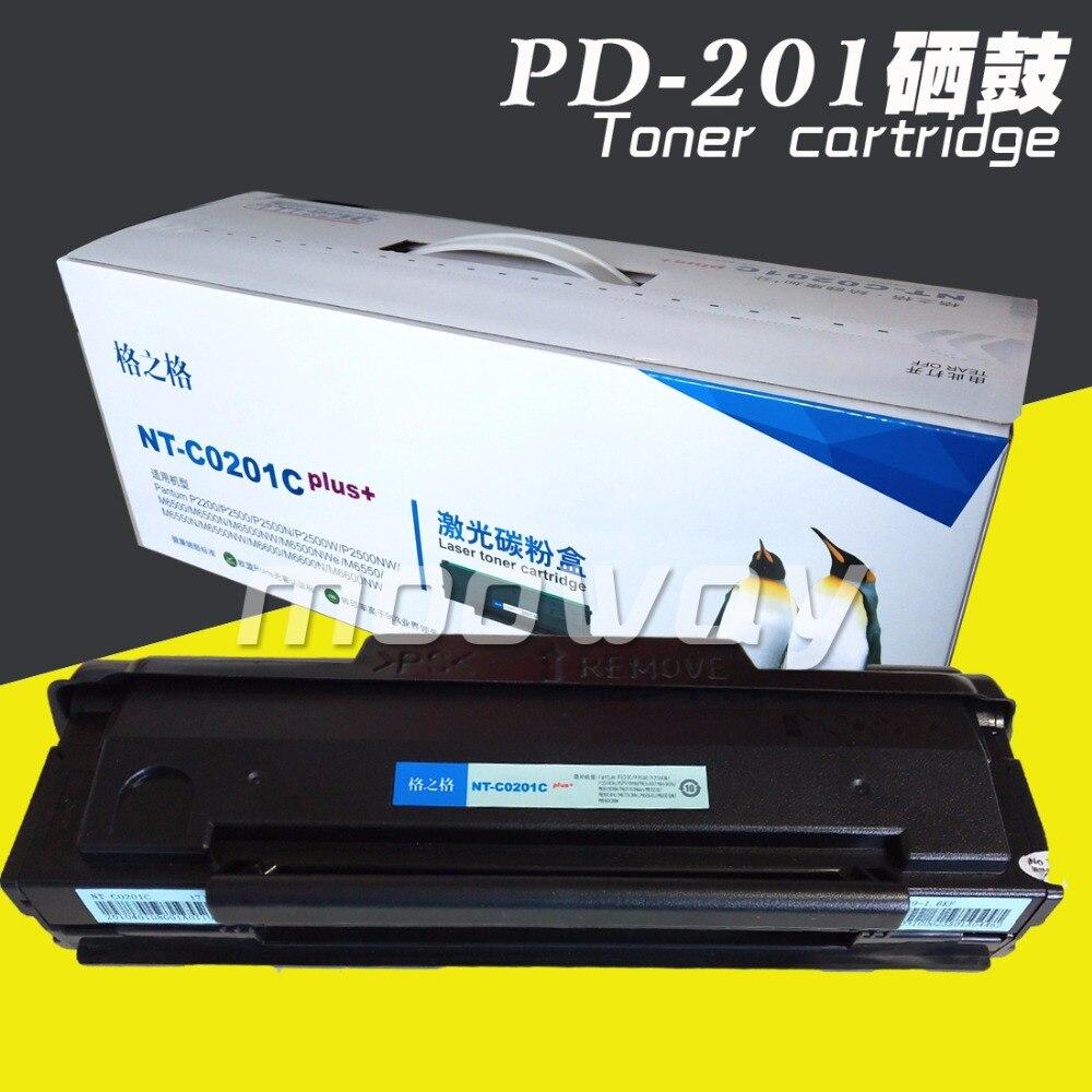 Remanufactured Toner Cartridge For Pantum 2500W P2505 P2200W M6500 PD-201 Toner Cartridge CHN Version