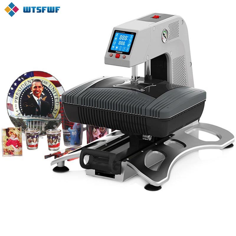 Wtsfwf ST-420 3D Sublimation Heat Transfer Transfer Printer Transfer Transfer 3D Printer 3D خلاء دستگاه پرینتر لیوان پلاستیکی
