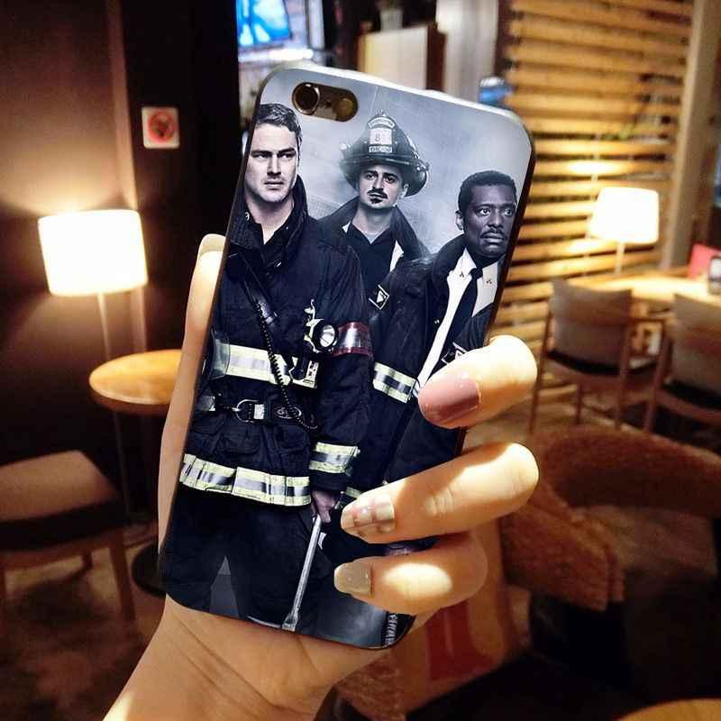 MaiYaCa シカゴ火災テレビ番組高級ハイエンドプロテクター携帯電話のケース iPhone 8 7 6 6S プラス × 10 5 5S 、 SE 5C Coque シェル