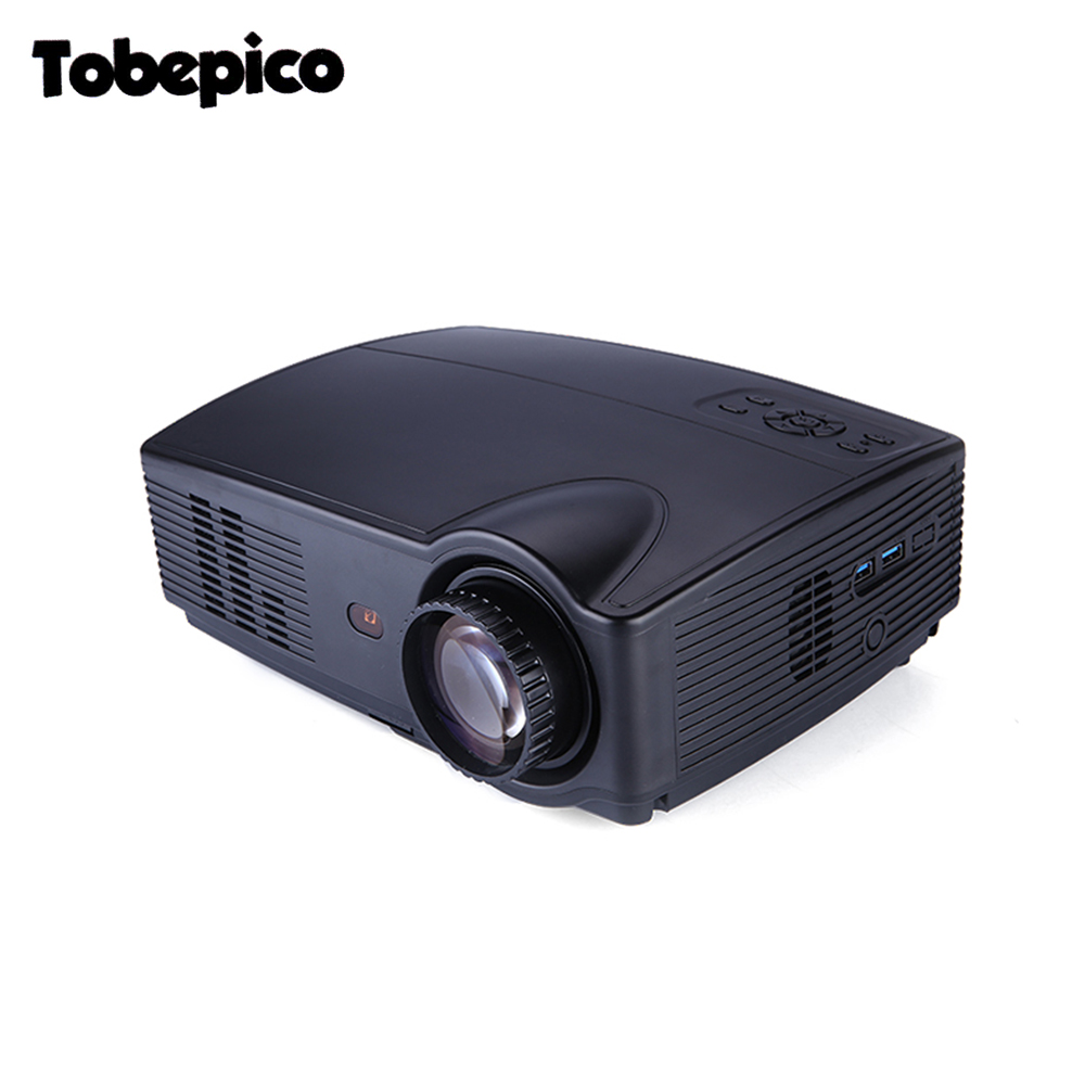 Led projector 3500 lumens beamer 1280 800 lcd projector tv for Projector tv reviews