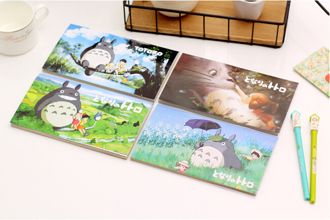 M45 My Neighbor Totoro Kawaii Weekly Planner Notebook School Supplies Stationery Filofax Writing Student Child Gift Diary