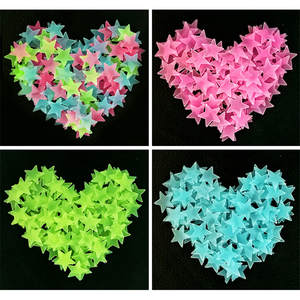 ZUOFILY 50pcs/bag Glow in the Dark Star Fluorescent Toy