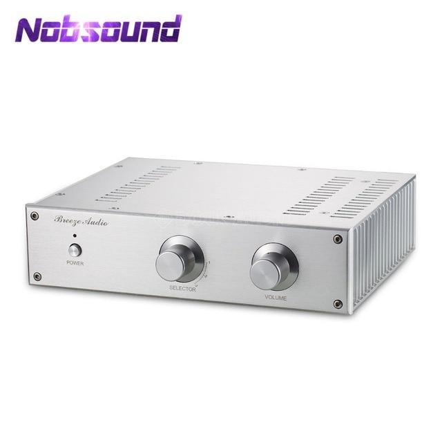 Nobsound Marantz HDAM מעגל מגבר כוח HiFi סטריאו 2.0 ערוץ 120 W + 120 W