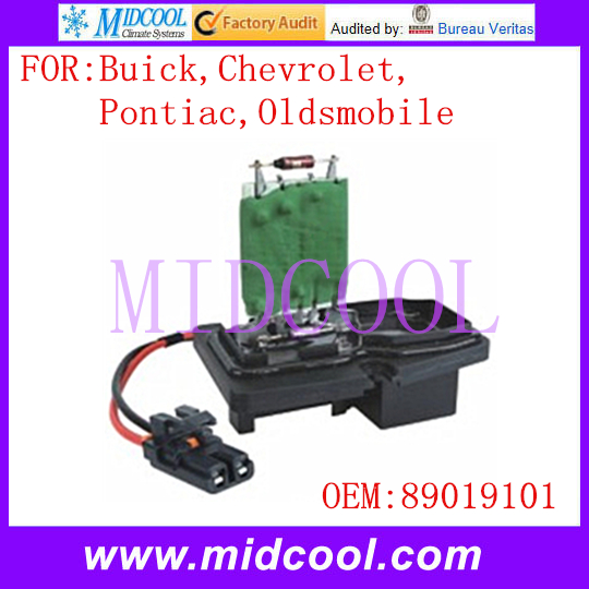 New Blower Motor Resistor Use Oe No 89019101 For Buick Chevrolet Pontiac Oldsmobile In Heater Parts From Automobiles Motorcycles On Aliexpress Com