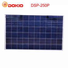 Dokio Brand Solar Panels China 250W Polycrystalline Silicon Solar Battery China 30V Large wattage Top quality Paneles Solares