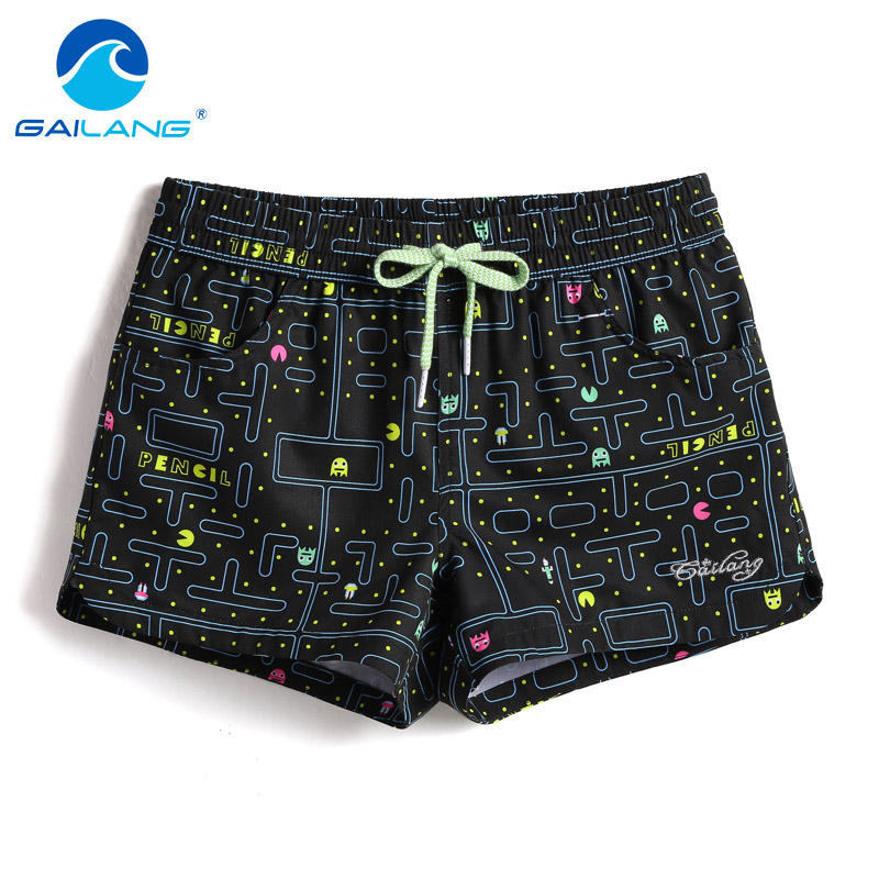 Gailang Brand Women Boxers Trunks Casual Active Bermudas Workout Cargos Woman Beach Boardshorts Quick Drying Swimwear Swimsuits