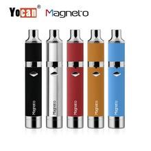 Magneto Yocan Cera Pluma Kits de Cigarrillos Electrónicos Con Conexión Magnética y Dab Herramienta Bobina 1100 mah Batería 5 Colores VS Elolve Plus