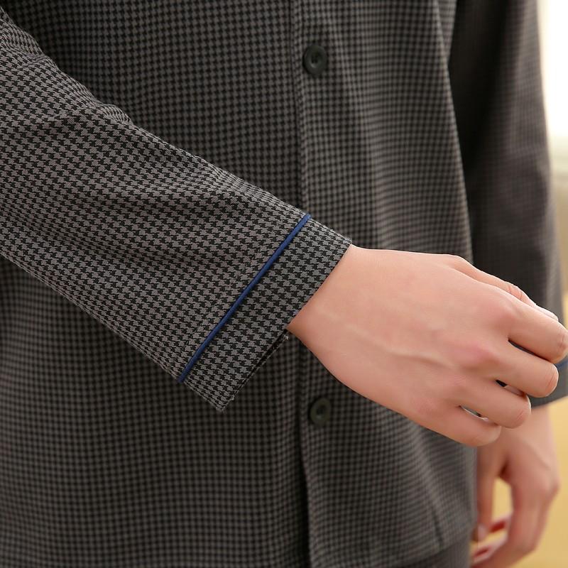 Men\'s Cotton Polyester Pajama Sets RBS-C LYQ1414 23