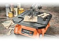 Новое поступление WX572 Настольная пила 650 Вт 220 В 240 В Портативный Деревообработка вы многоцелевой увидел и лобзик для дерева/металл/плитка