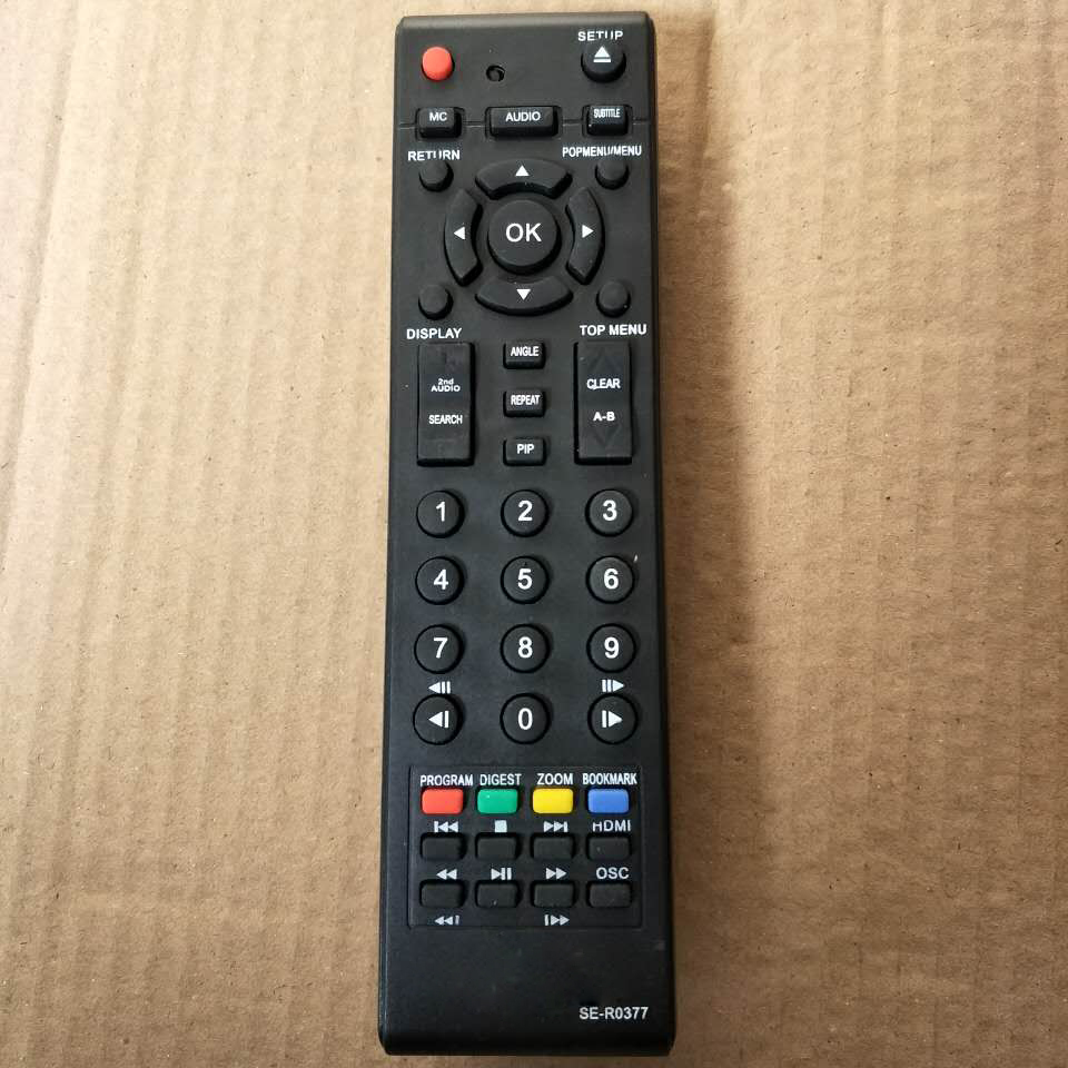 OEM Remote Control for Toshiba SE-R0377 universal Replace The BDX2100 BDX3100 DVD BLU-RAY Fernbedienung Fast shipping the remote replace for beninca io remote control dhl free shipping