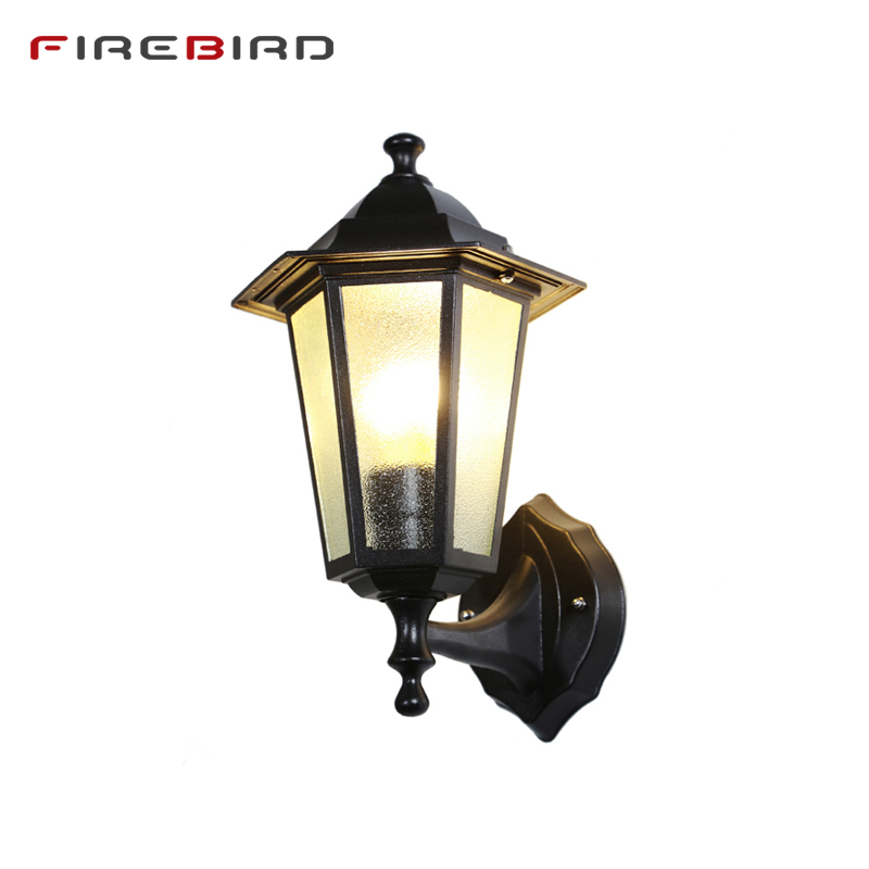 LED Wall Lamps Bed Room Bedside Lights Retro Corridor Lamp European American Outdoor Porch Lighting Water Proof E27 Bulbs WL08