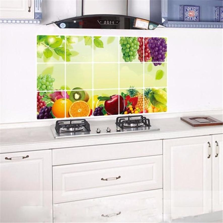 Kitchen Wall Groupings: Kitchen Wall Stickers 1pc Home Stickers Kitchen Anti