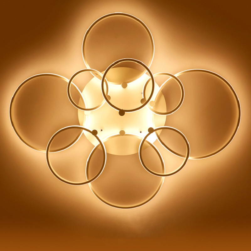 Surface mounted modern led ceiling lights for living room Bed room light White Brown plafondlamp home Surface mounted modern led ceiling lights for living room Bed room light White/Brown plafondlamp home lighting led Ceiling Lamp