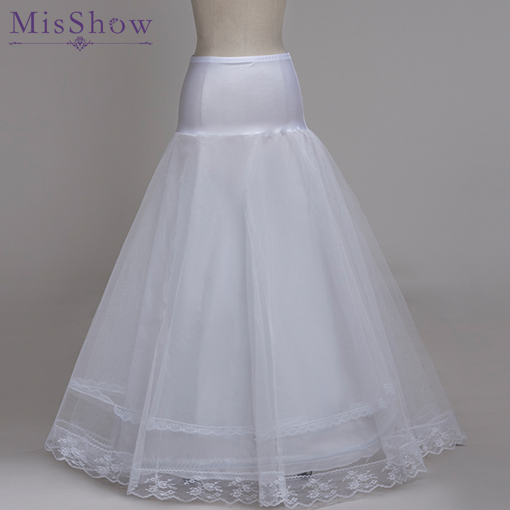 Wedding Accessories Back To Search Resultsweddings & Events Jupon Mariage Hot Sale White Tulle Tulle Dress Long Underskirt Cheap Petticoat Stock Enaguas Para El Vestido De Boda