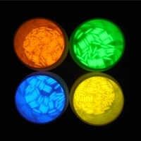 1pc 1,5x6mm Trit Fläschchen Tritium Multicolor Selbst-leucht Fahrrad Mini Helle Licht Rohr Zubehör dekorieren nacht Licht