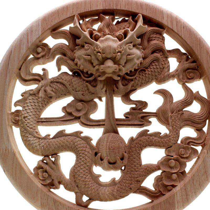 VZLX bois bûches tranches disques disques pour bricolage artisanat Vintage décor à la maison jardin mariage fête décoration accessoires fournitures Figurine - 4