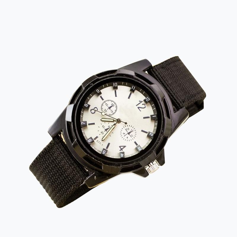Reloj Hombre Sport Herr Klockor Armé Militär Man Armbandsur Luxury - Herrklockor