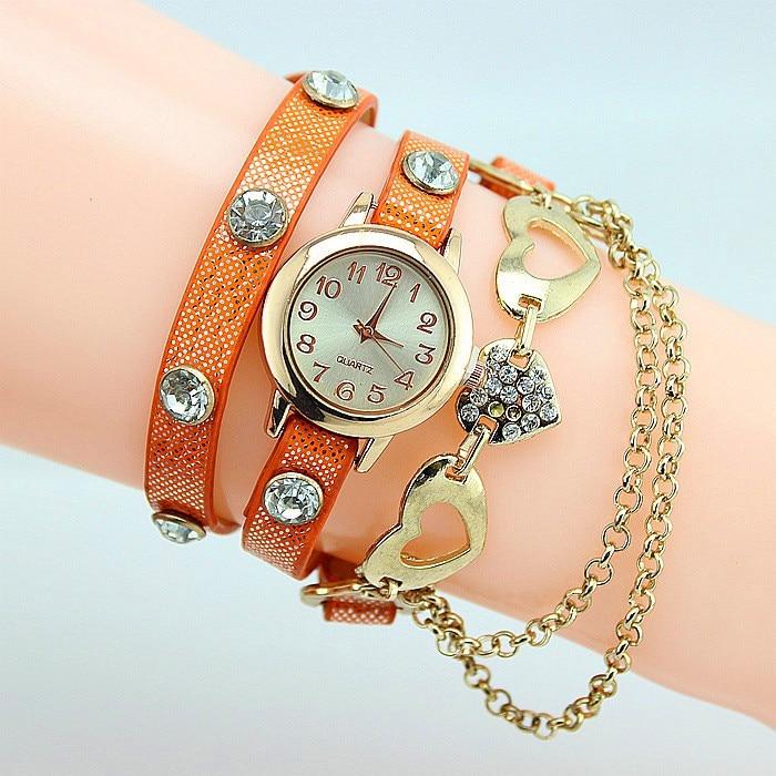2015 Hot Sale Quartz Watch Women New Dress Style Wristwatch Girls ...