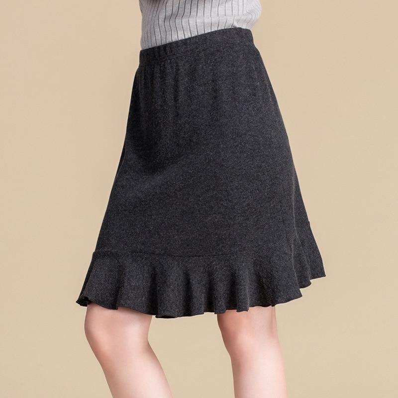 Hand Nail Drill Lotus Leaf Edge Tassel Shirt Women's Clothing High Waist Half Skirt Fishtail Skirt Two-piece Set