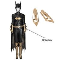 2017 Hot Customized Cartoon Character Batgirl Batman Women Cosplay Costume Bracers for Halloween Accessories