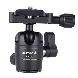 Image 5 - AOKA CMP163C 496g max loading 3kgs lightweight table mobile DSLR carbon fiber mini tripod for camera phone