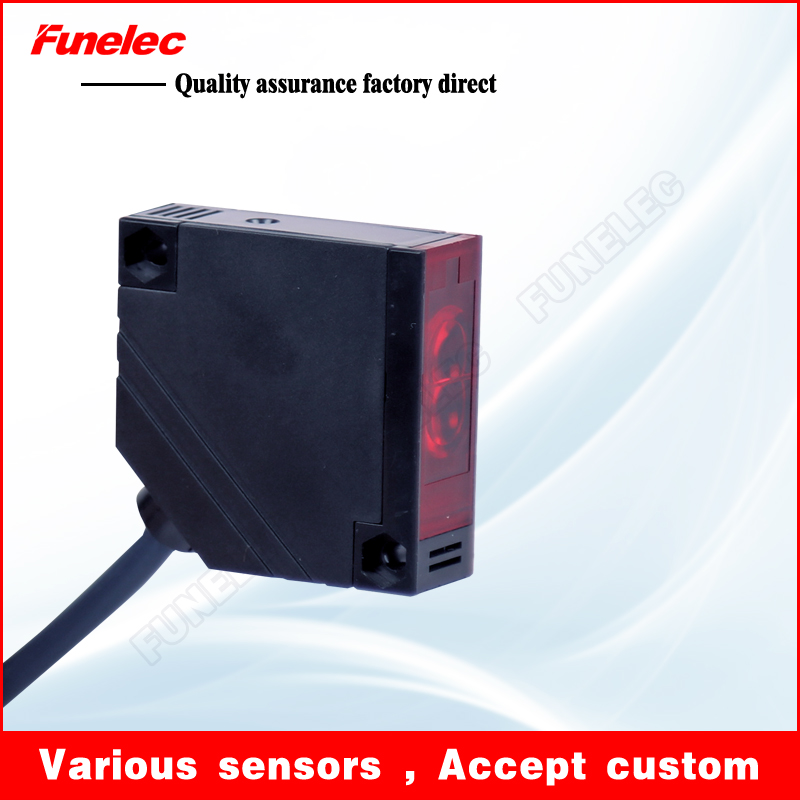 E3JK-R4M1 feedback reflection type NPN five wire photoelectric switch probe photoelectric switch sensor plate reflection
