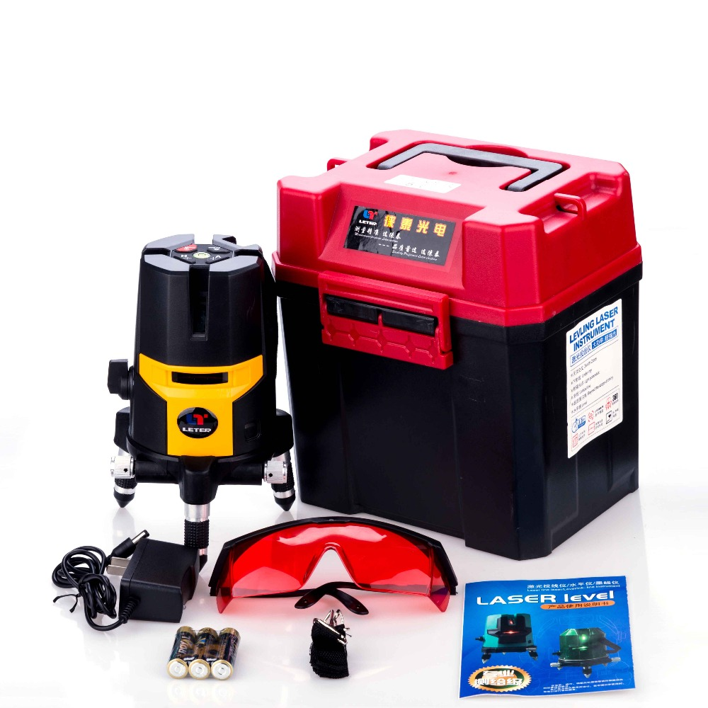 LETER  Cross line laser, laser level  5lines 1 point(1V1H)  LT-15 cross line laser the tool measuring laser leveler 5 lines 1 point 4v1h laser level