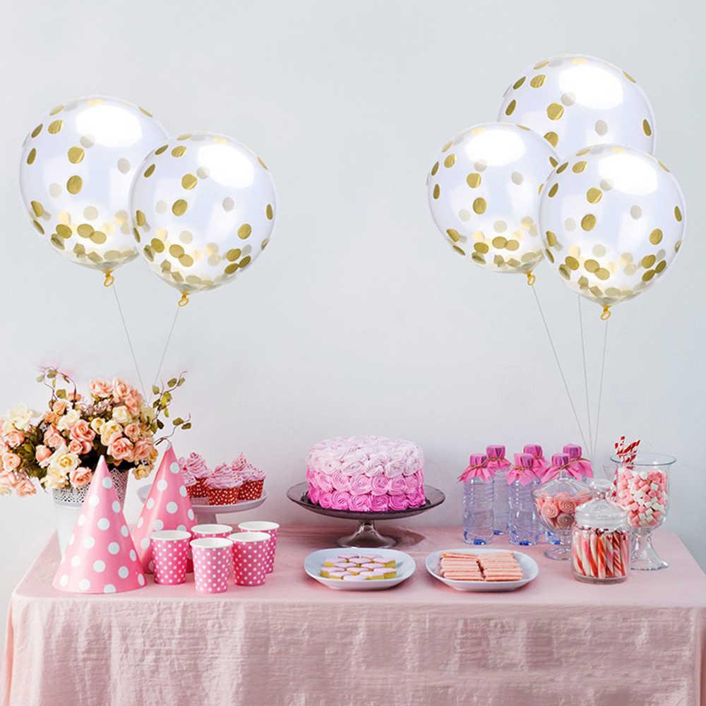 Festa de Casamento Confetti 10 g/saco 1 centímetros cor misturada rodada confetti jogue a toalha de papel enfeites de mesa da festa de aniversário